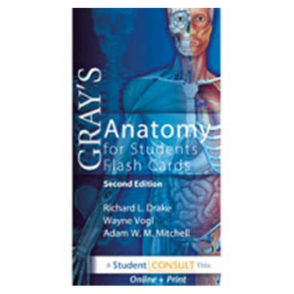 Flash Card Set Educational 2nd Edition Gray\'s Anatomy Ea - InSource