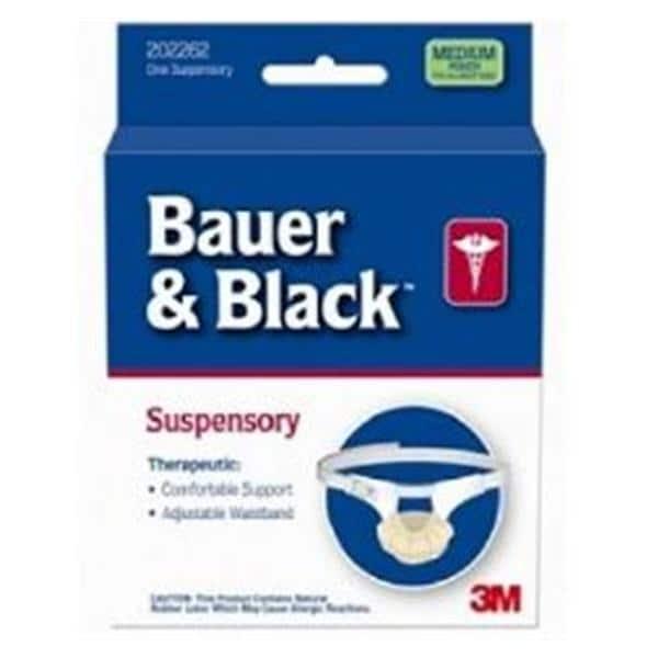 Supporter Athletic Regular Bauer & Black Men White Sz Large